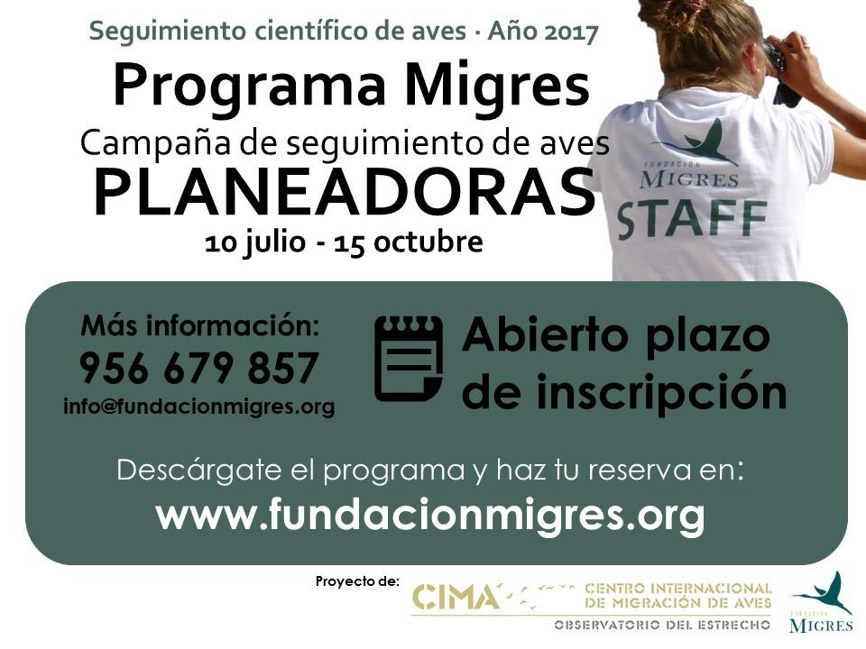 Cartel Migres Planeadoras 2017